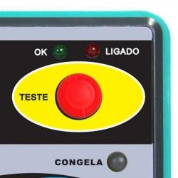 Simulador de Termopar Termoresistência pT100 Resistência e Tensão IP01