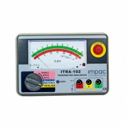 Simulador de Termopar Termoresistência pT100 Resistência e Tensão Impac IP01
