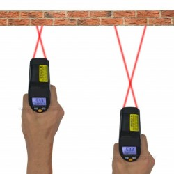Trena Digital Laser Impac IP-050L - Medição distância