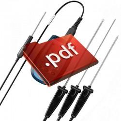 Decibelímetro Digital Impac c/ Memória  IP-140 - Microfone Destacável