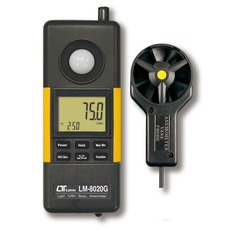 Termo Higro Anemômetro Luxímetro Digital LM-8020