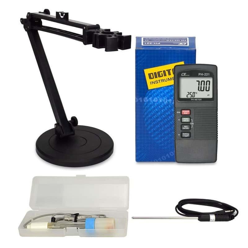 Anemômetro Termohigro Luxímetro Digital LM-8000 Lutron