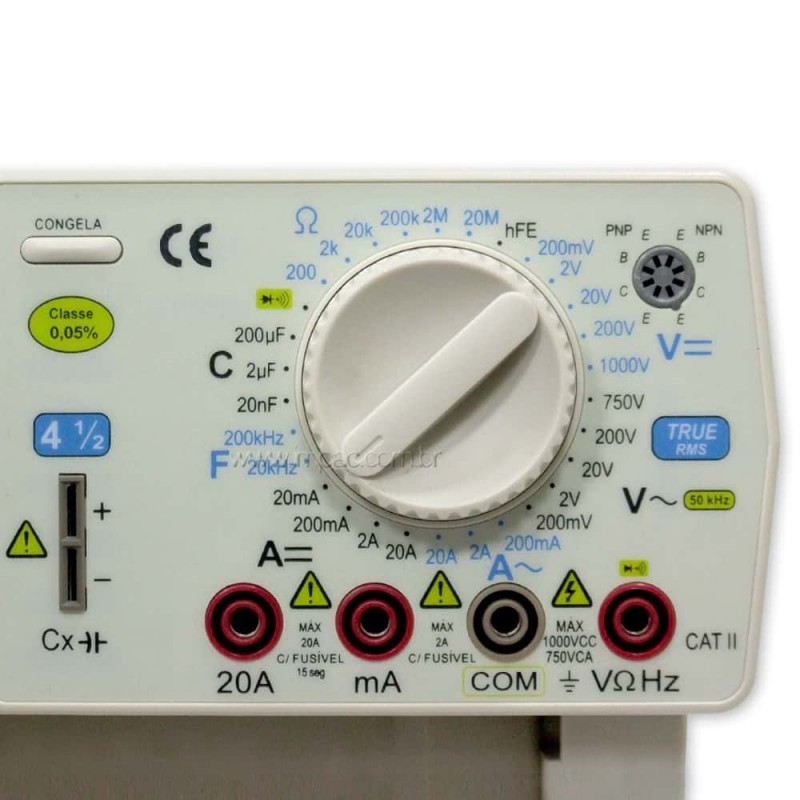 pHmetro Portátil Datalogger PH-221