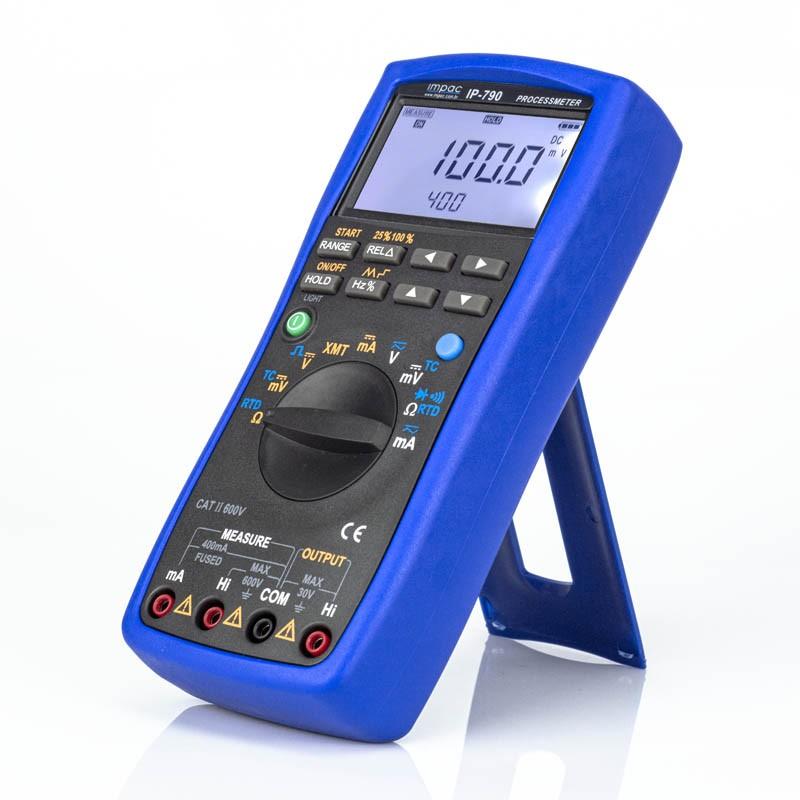 Multímetro Calibrador Termopar pT100 Loop de Corrente IP-790