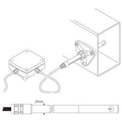 Tacômetro Digital Foto Contato DT-2268 Lutron - Medição Rotação