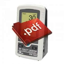 Oxímetro Coletor de dados Lutron DO-5519