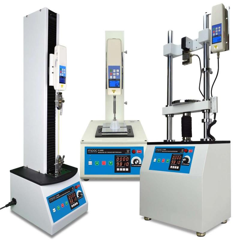Máquinas de Ensaio Tração e Compressão Eletrônica Impac