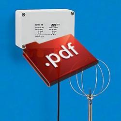 Gaussímetro digital GU-3001 CC / CA Magnetômetro