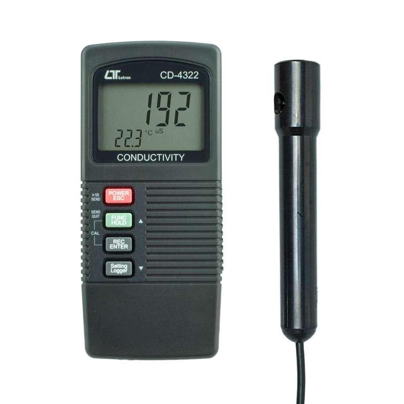 Condutivímetro Datalogger CD-4322 Lutron