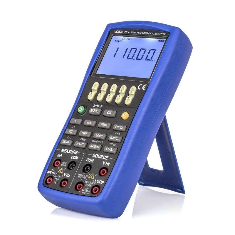 Calibrador Medidor Tensão Corrente CC Frequência e Pulso