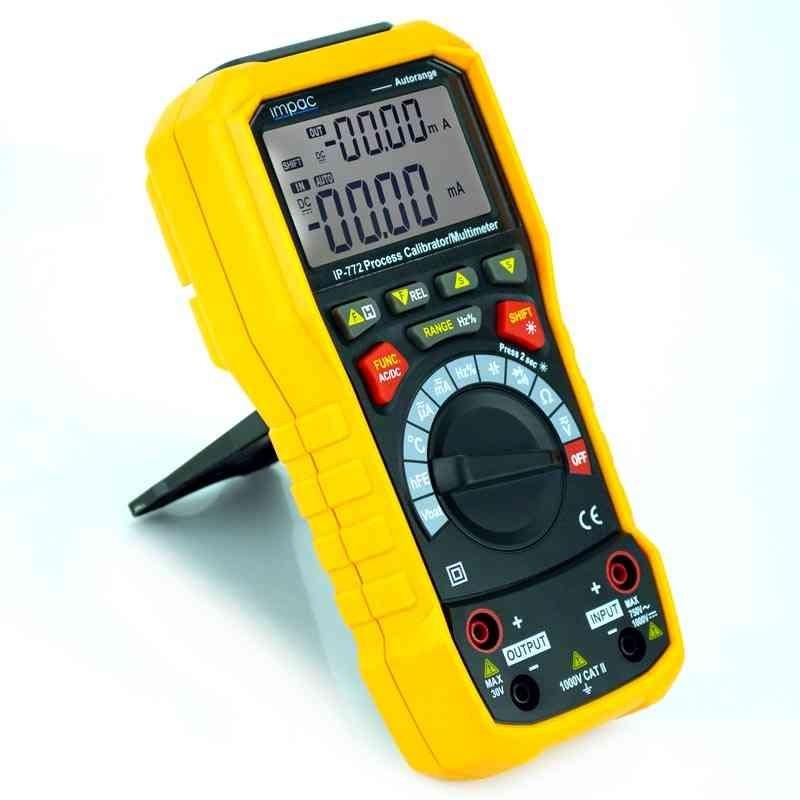 Calibrador 4 a 20 mA tensão 10V para CLP Processo  multímetro IP-772 Impac