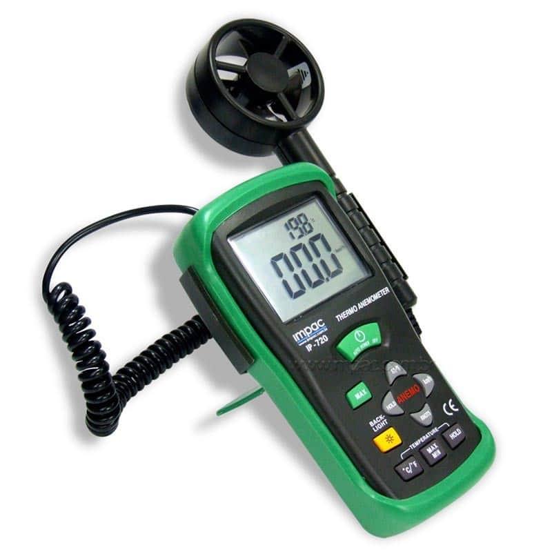 Anemômetro Digital IP720 ( Hélice Remota ) Impac